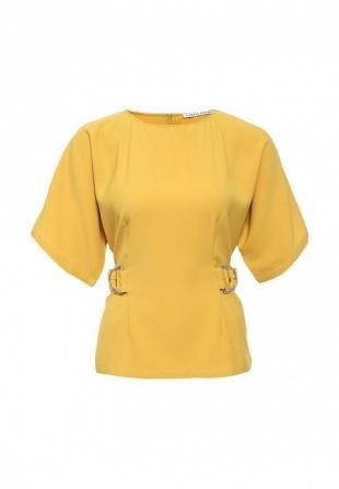 Желтые блузки, блуза finders keepers, осень-зима 2016/2017