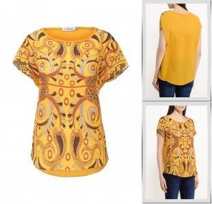 Желтые блузки, блуза la coquette, весна-лето 2016