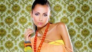 Макияж под желтое платье, летний макияж для серо-голубых глаз