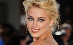 Свадебный макияж для блондинок, нежный макияж для серых глаз и светлых волос