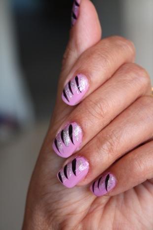 Бархатные рисунки на ногтях, рисунки на ногтях для начинающих