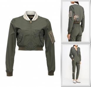 Хаки куртки, куртка met, осень-зима 2016/2017
