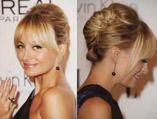 """Цвет волос золотистый блонд, вечерняя прическа """"ракушка"""""""