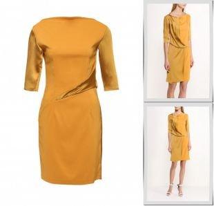 Золотые платья, платье d.va, весна-лето 2016