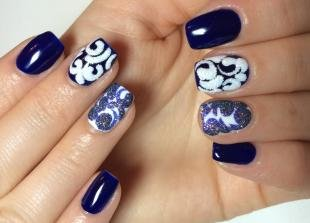 Рисунки блестками на ногтях, дизайн ногтей с помощью акриловой пудры