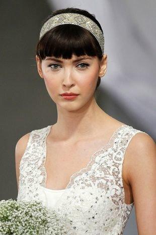 Свадебный макияж для серо-голубых глаз, свадебный макияж для голубоглазых брюнеток