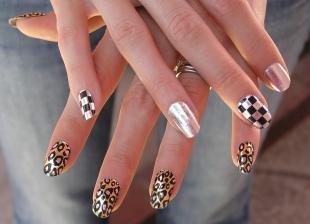 Леопардовые рисунки на ногтях, идеи оригинального дизайна ногтей