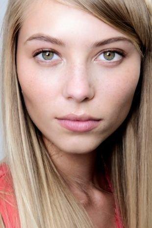 Дневной макияж для серых глаз, легкий макияж на 1 сентября