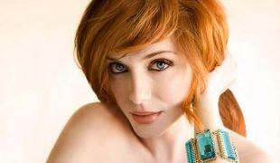 Макияж для рыжих с голубыми глазами, макияж для серых глаз и рыжих волос