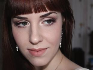 Летний макияж для серых глаз, красивый макияж в пастельных тонах