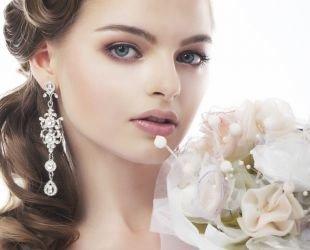 Свадебный макияж для маленьких глаз, спокойный свадебный макияж для голубых глаз