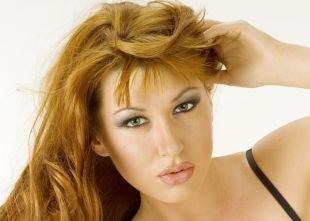 Макияж для рыжих с зелеными глазами, макияж для зеленых глаз со светло-серыми тенями