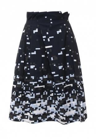 Синие юбки, юбка jil sander navy, весна-лето 2016