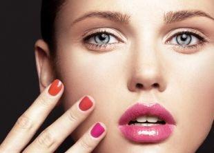 Макияж для русых волос и серых глаз, весенний макияж для маленьких глаз