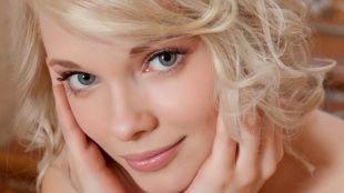 Быстрый макияж, пастельный макияж для серых глаз