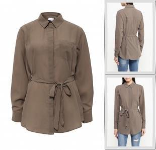 Хаки блузки, блуза lost ink, осень-зима 2016/2017