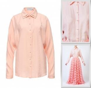 Коралловые блузки, блуза bella kareema,