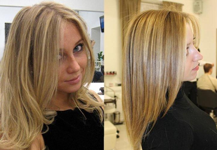 Классическая техника мелирования на светлые волосы