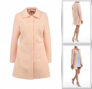Розовые пальто, пальто lamania, весна-лето 2015