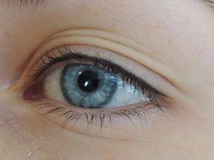 Татуаж глаз, татуаж глаз - заполнение межресничного пространства