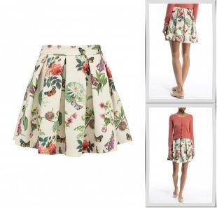 Молочные юбки, юбка yumi, весна-лето 2015