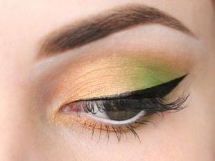 Макияж для опущенных уголков глаз, нежный летний макияж для серых глаз