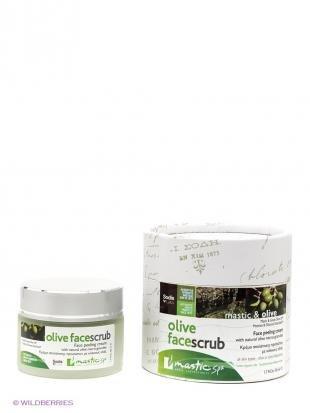 "Эффективный скраб для лица, mastic spa скраб для лица ""olive face scrub"""
