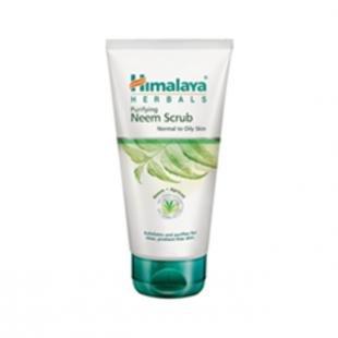 Ежедневный скраб для лица, himalaya herbals purifying neem scrub (объем 150 мл)
