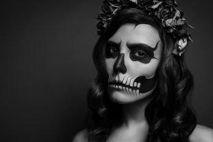 Макияж на Хэллоуин, страшный макияж на хэллоуин