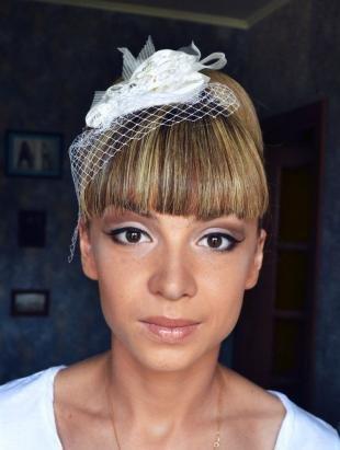 Свадебный макияж для маленьких глаз, свадебный макияж для шатенок с карими глазами