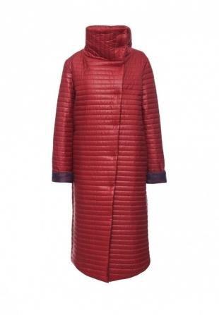 Бордовые куртки, куртка утепленная trendyangel, осень-зима 2016/2017