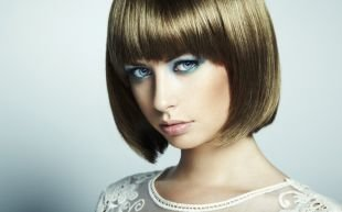 Макияж для голубых глаз, броский макияж для голубых глаз