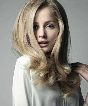 Цвет волос натуральный блондин, песочный цвет волос