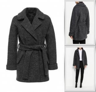 Серые пальто, пальто ichi, осень-зима 2016/2017