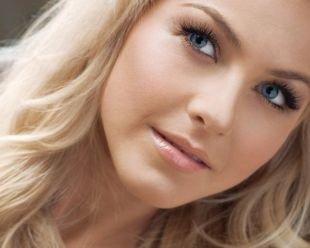 Свадебный макияж для блондинок с голубыми глазами, сочетание макияжа голубых глаз с цветом волос