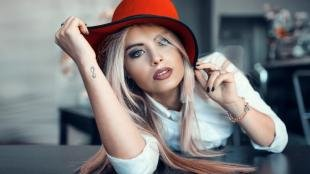 Красивый макияж, макияж для серых глаз и светлых волос