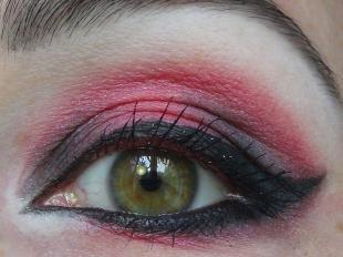 Яркий макияж для зеленых глаз, вечерний макияж для зеленых глаз