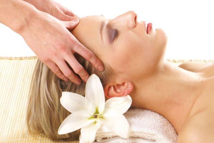 СПА/SPA процедуры для волос - массаж головы